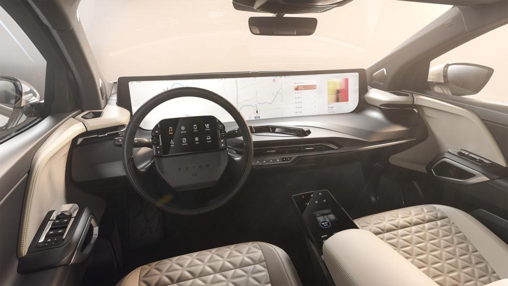 Byton M-Byte SUV interior